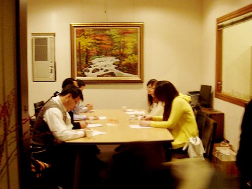 10-1年台中大飯店包廂3-對3未婚聯誼