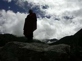 在喜馬拉雅山