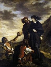《在墓園的哈姆雷特和赫瑞修》(Hamlet and Horatio in the Cemetery)