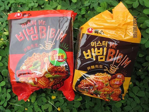 韓國農心「拌麵先生」