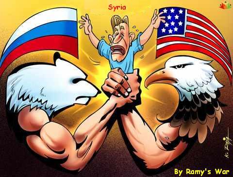 美俄之間的敘利亞