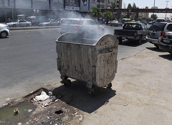 焚燒垃圾與亂丟垃圾