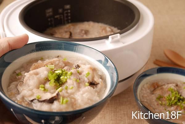 芋頭排骨鹹粥1