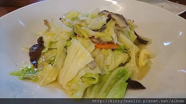 稻香園-炒時蔬-高麗菜