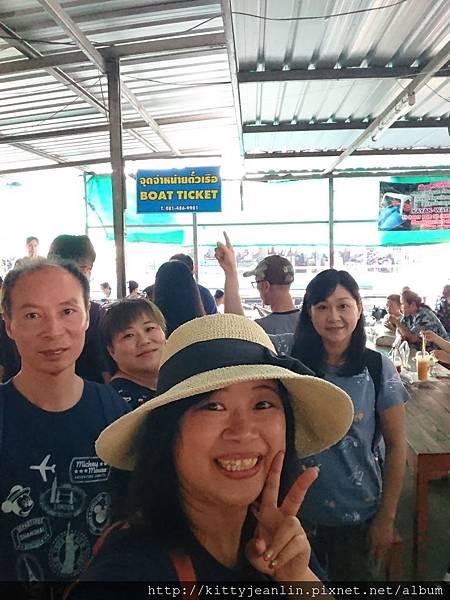 空叻瑪榮水上市場 Klong Lat Mayom Floating Market