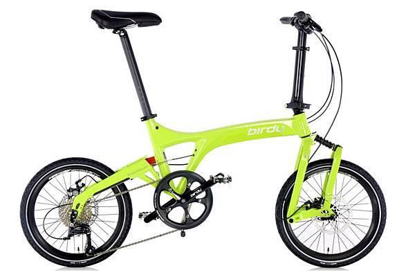 太平洋自行車NEW BIRDY_Standard 9SP_萊姆綠_售價$55,000