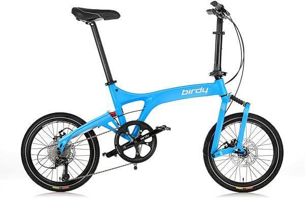 太平洋自行車NEW BIRDY_Standard 9SP海洋藍_售價$55,000