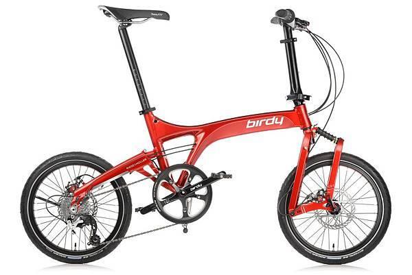 太平洋自行車NEW BIRDY_Touring 3x8_晶艷紅_售價$67,000