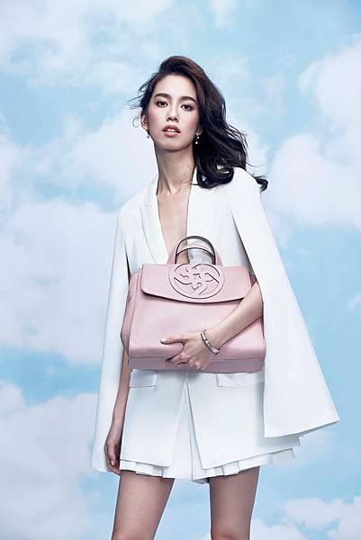 1.陳庭妮率性展演borsalini 4b系列包款,表現女性時尚魅力