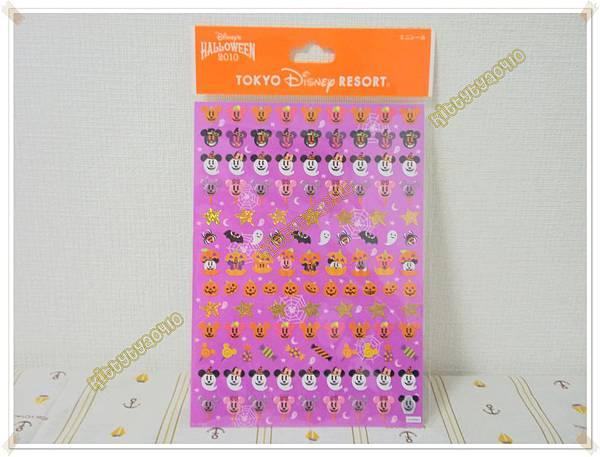 $200 日本 迪士尼 萬聖節米奇貼紙