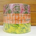 ECOUTE! 古靈精怪貓咪女孩 和紙紙膠帶 D $260/組