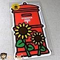 已絕版 在庫僅存~$150 季節紅色郵筒型明信片2011夏季限定版