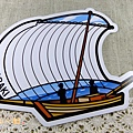 $130 茨城第二彈:帆引き船 (帆船)