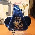 迪士尼海洋限定 海洋十週年魔法帽造型 掛吊飾零錢包