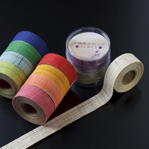和小物 手織麻膠帶 $190