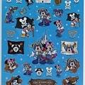 迪士尼樂園 海盜主題半透明凸凸貼 相簿價$190;合購價$180