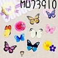 現貨已售完~MW最愛貼紙包第六彈 MW73910蝴蝶