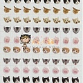 手帳貼 SG-02貓 相簿價$85;合購價$80