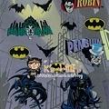 SMALL PLANET貼紙 WBBT27蝙蝠俠 $100~