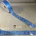 MW Lace Deco蕾絲鏤空裝飾膠帶30mm MW91344愛麗絲藍 $235