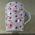 kitty ART展限定商品:陶瓷馬克杯 草莓杯