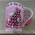 kitty ART展限定商品:陶瓷馬克杯 草莓塔
