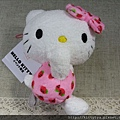 kitty ART展限定商品:手機包包吊掛飾 二色 粉紅/藍