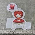 kitty ART展限定商品:造型小貼紙 kitty&椅子