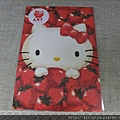 kitty ART展限定商品:水彩畫明信片07