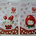 kitty ART展限定商品:刺繡貼紙 共三款