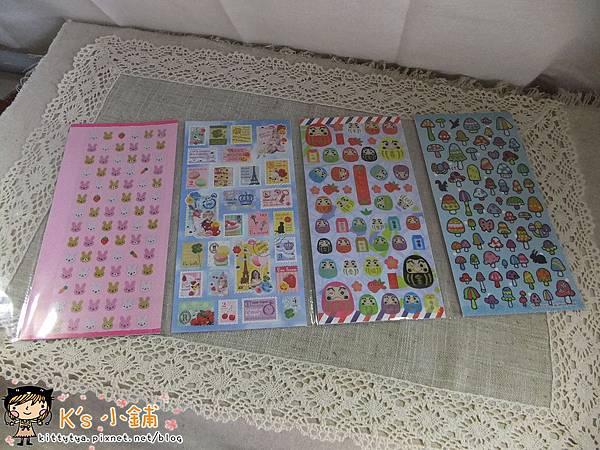 TOKYU HANDS一年一次貼紙福袋8枚入 $180