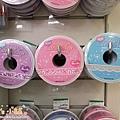 MW Lace Deco蕾絲鏤空裝飾膠帶15mm 左→右 MW91386妖精紫/MW91384蝴蝶結粉/MW91388蕾絲銀 $185