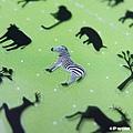 P-WORK貼紙 手帳貼系列 叢林動物剪影31-01 $100A