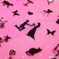 P-WORK貼紙 手帳貼系列 女孩雜貨剪影31-02 $100A