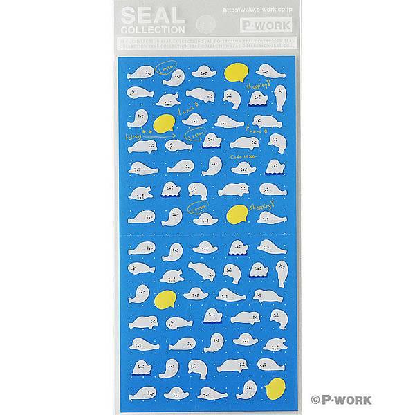 P-WORK貼紙 手帳貼系列 海豹31-06 $100A