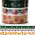 Mark's和紙膠帶 2011年限定 聖誕assor系列 MKT13-GN綠