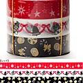 Mark's和紙膠帶 2011年限定 聖誕assor系列 MKT13-RE紅
