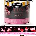 Mark's和紙膠帶 2011年限定 聖誕禮物盒系列 MKT14-BK黑