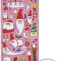 MW貼紙 聖誕系列MW74184YURU聖誕老公公 $75
