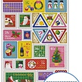 Petit聖誕系列MW74190聖誕郵票 $110