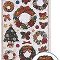 MW貼紙 Petit聖誕系列MW74193聖誕樹圈  $110