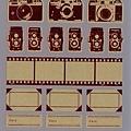 Mark's 復古相機底片貼紙 CMF-ST1-RE紅 相簿價$125 合購價$120
