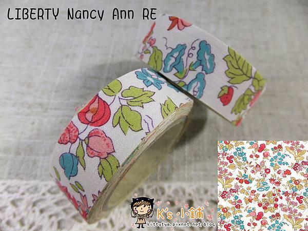 布膠帶LIBERTY Nancy Ann RE 相簿價$135 合購價$130