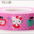 日本sanrio系列紙膠帶 948331kitty蘋果