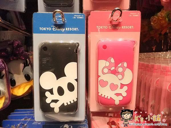 迪士尼樂園限定 iphone3G矽膠手機殼