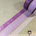 現貨已售完~Mark's和紙膠帶 LADUREE系列 LDR-MKT1-C紫