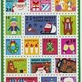 KJ43423聖誕造型郵票貼 $75