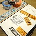 MIDORI TF系列 (Traveler's Factory) 原創和紙膠帶 三款