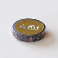 KAMOI和紙膠帶 mt2011聖誕限定單捲 手織物蘇格蘭紋