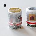 KAMOI和紙膠帶 mt2011聖誕限定組合 組合B